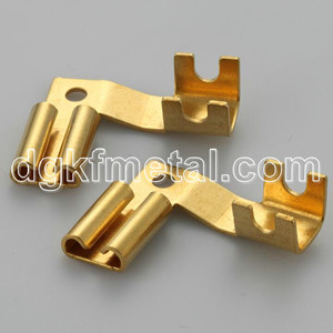 OEM Precision Stamping end to end or side to side chainsTerminal or loose pieces terminals