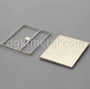 EMI shield cover and frame