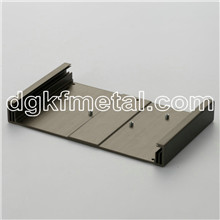 Chassis with fins controller heat sink