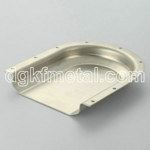 Deep drawing aluminum protected part