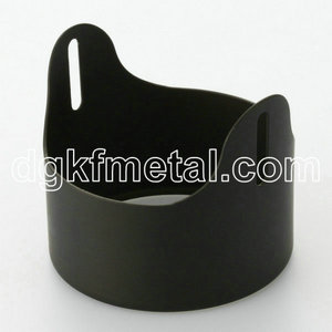 Circular ring protection iron part