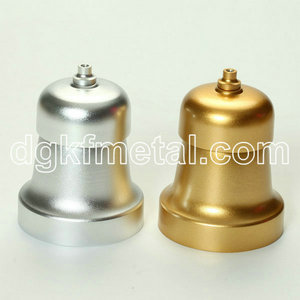 Aluminum assembly anodize lamp cover