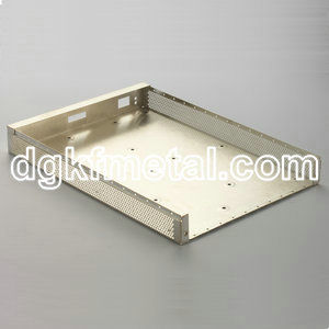 Sheet metal aluminum housing