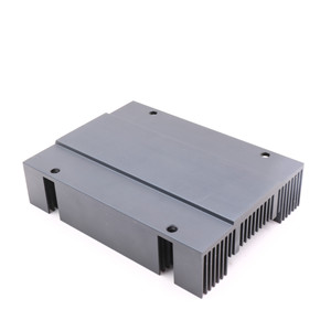 aluminum extruded heat sink with fan mounting for smart home device